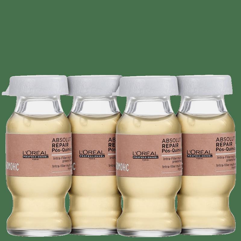 L'Oréal Professionnel Absolut Repair Pós-Química - Ampola de Nutrição 4x10ml