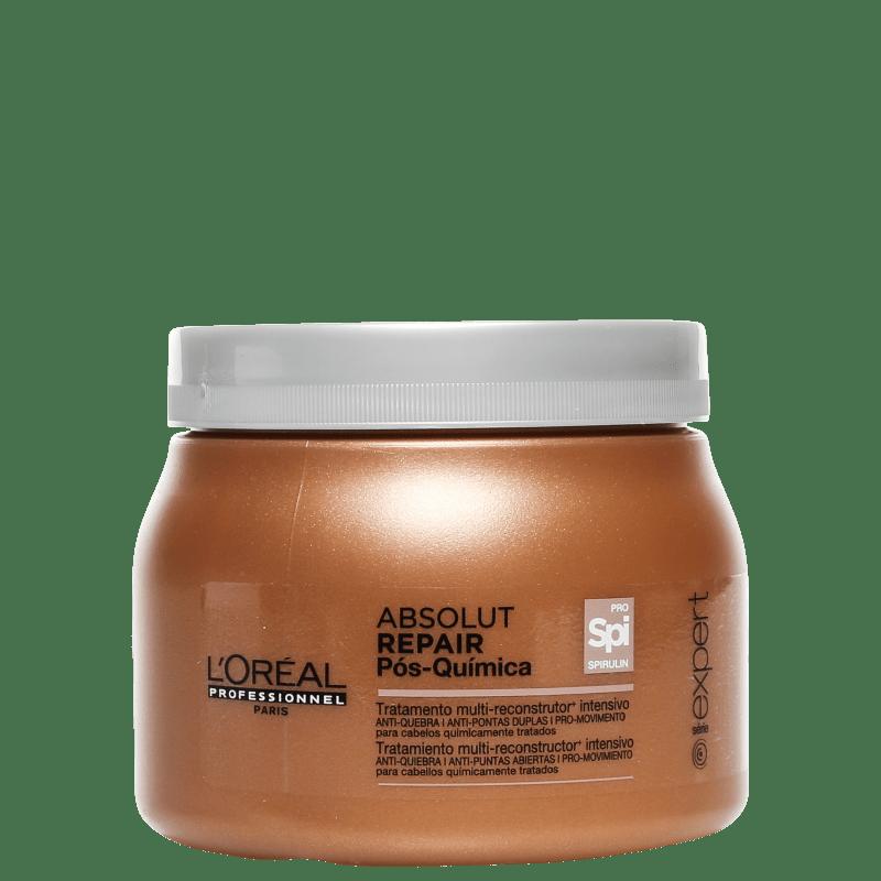L'Oréal Professionnel Absolut Repair Pós-Química Tratamento Multi-reconstrutor Intensivo - Máscara de Tratamento 500g