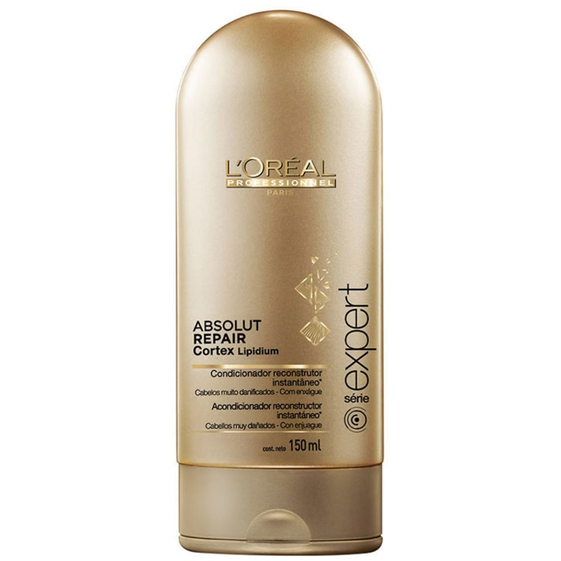 L'Oréal Professionnel Absolut Repair Cortex Lipidium Instant Reconstructing Conditioner - Condicionador 150ml