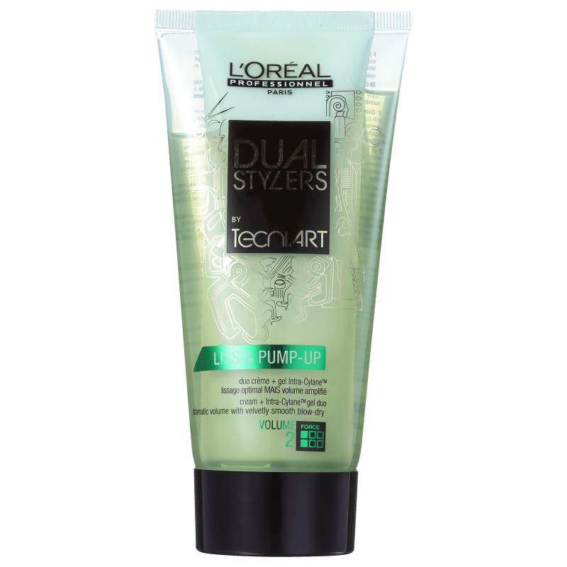 L'Oréal Professionnel Dual Styler by Tecni.Art Liss & Pump-Up - Leave-in 2 em 1 150ml