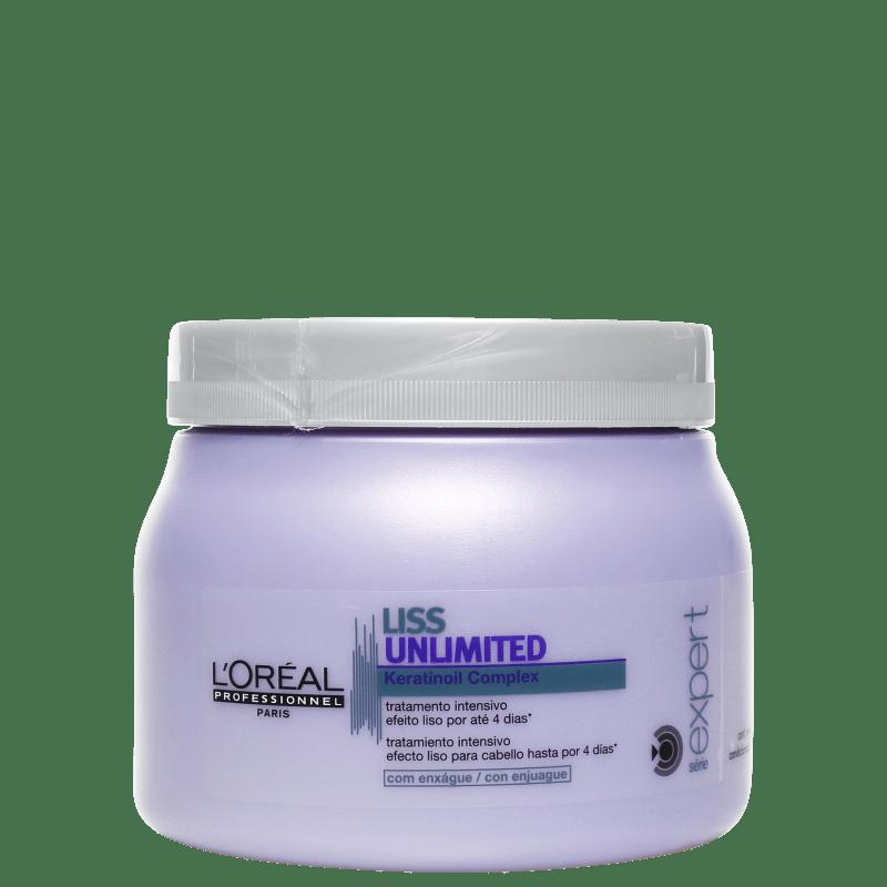 L'Oréal Professionnel Expert Liss Unlimited - Máscara Capilar 500g