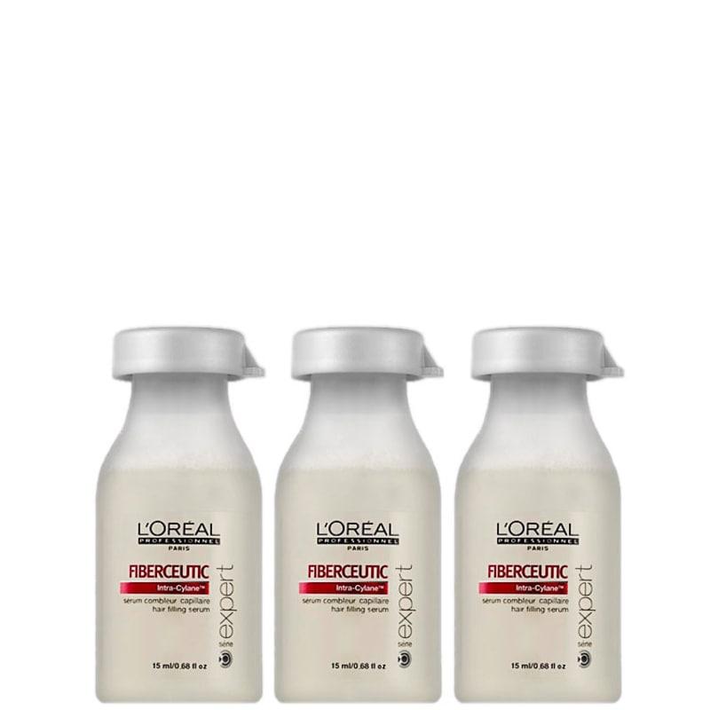 L'Oréal Professionnel Fiberceutic - Ampola Tratamento 3x15ml