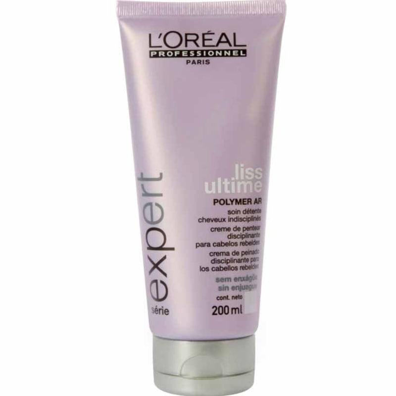 L'Oréal Professionnel Liss Ultime Creme de Pentear (Sem Enxágue) - Tratamento 200ml