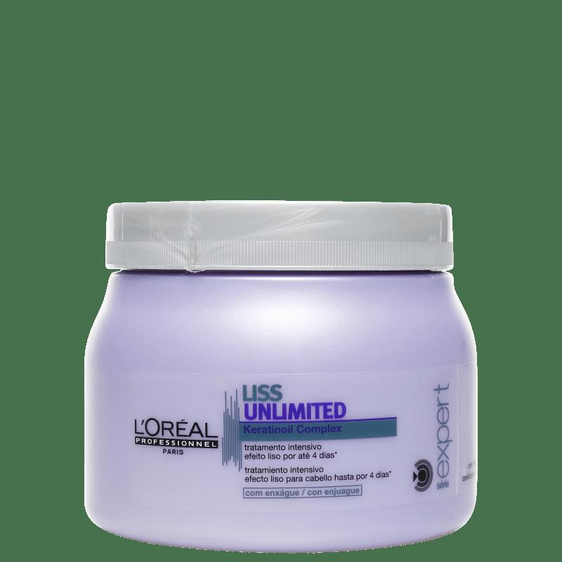 L'Oréal Professionnel Liss Unlimited - Tratamento Intensivo 500g