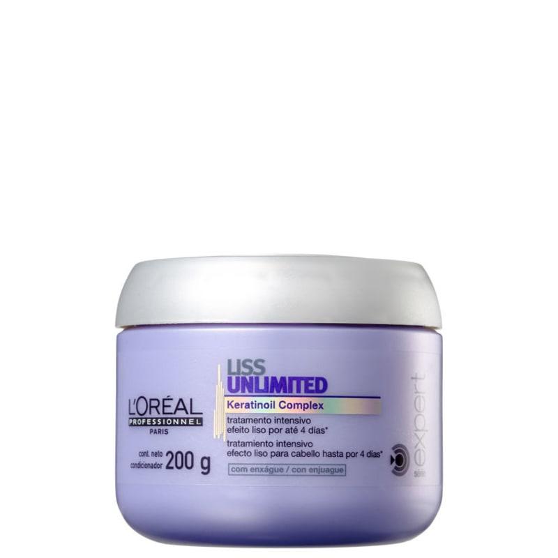 L'Oréal Professionnel Liss Unlimited Tratamento Intensivo - Máscara 200g