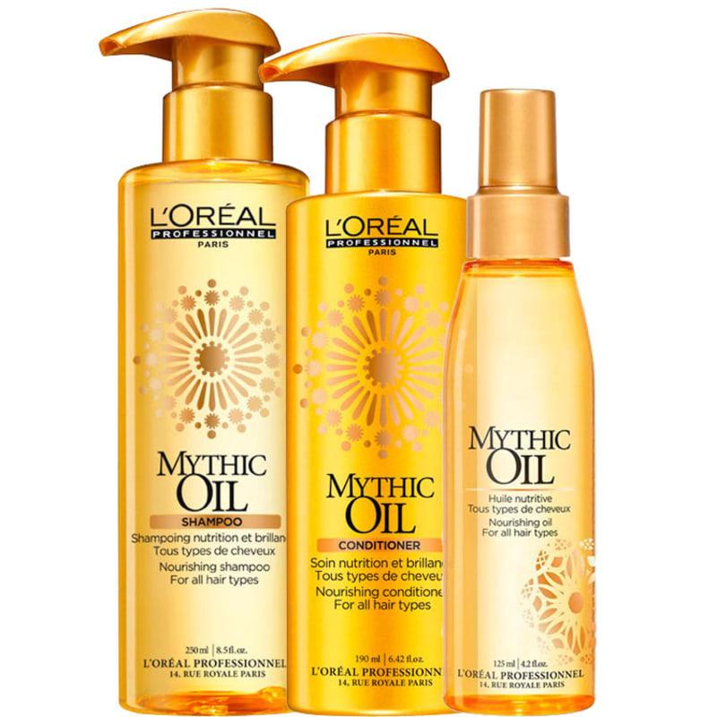 L'Oréal Professionnel Mythic Oil Ritual Mythic Escova Express Kit (3 Produtos)