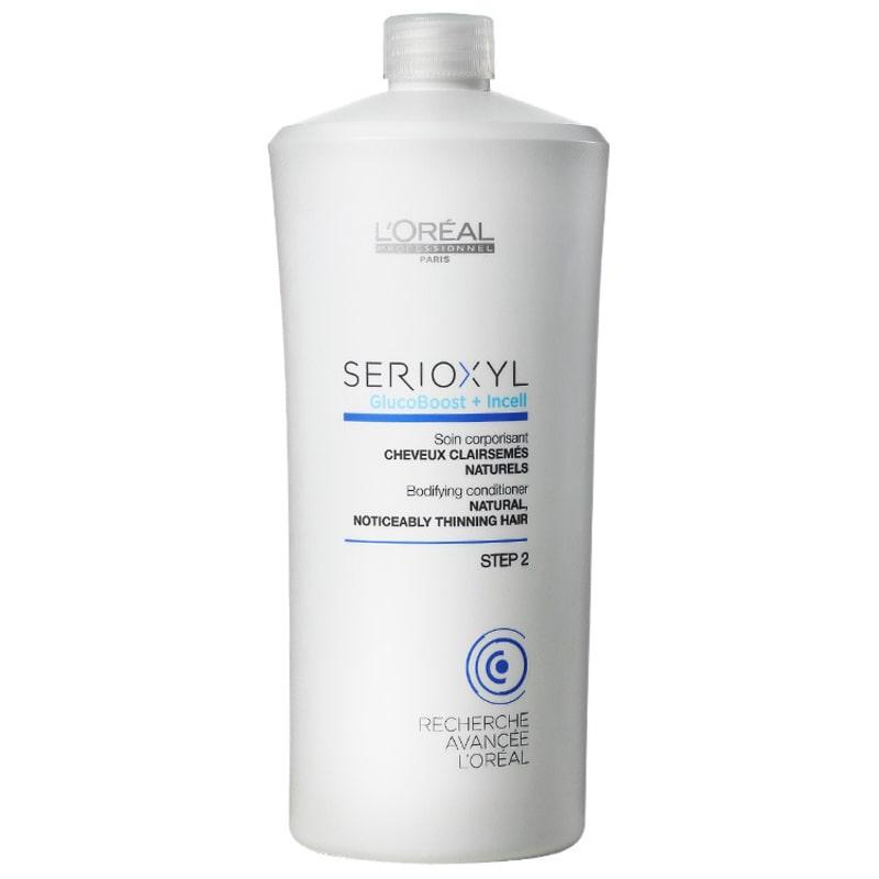 L'Oréal Professionnel SerioXYL GlucoBoost + Incell Scin Corporisant Step 2 - Condicionador 1000ml