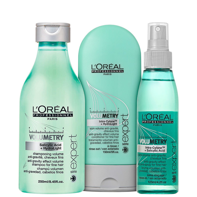 L'Oréal Professionnel Volumetry Intra-Cyclane + HydraLight Trio Kit (3 Produtos)