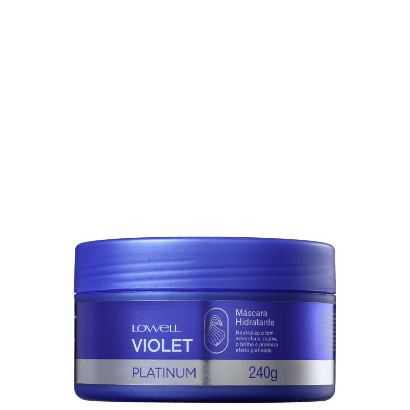 Lowell Violet Platinum - Máscara 240g