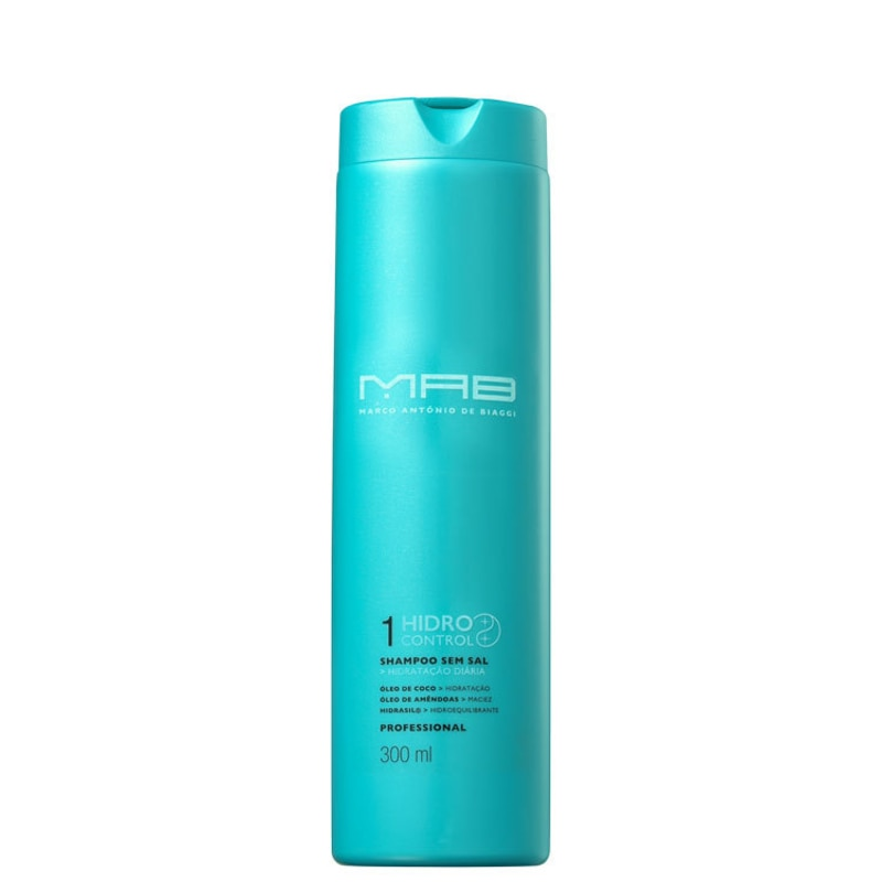 MAB Marco Antônio de Biaggi Hidro Control - Shampoo sem Sal 300ml