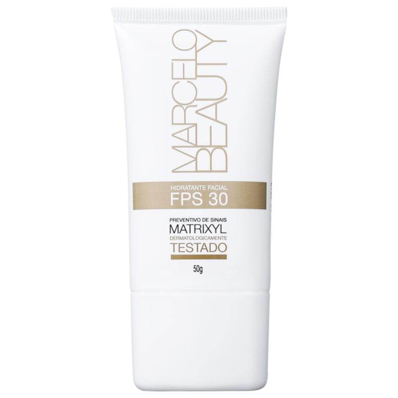 Marcelo Beauty Hidratante Facial FPS 30 - Hidratante Facial 50g