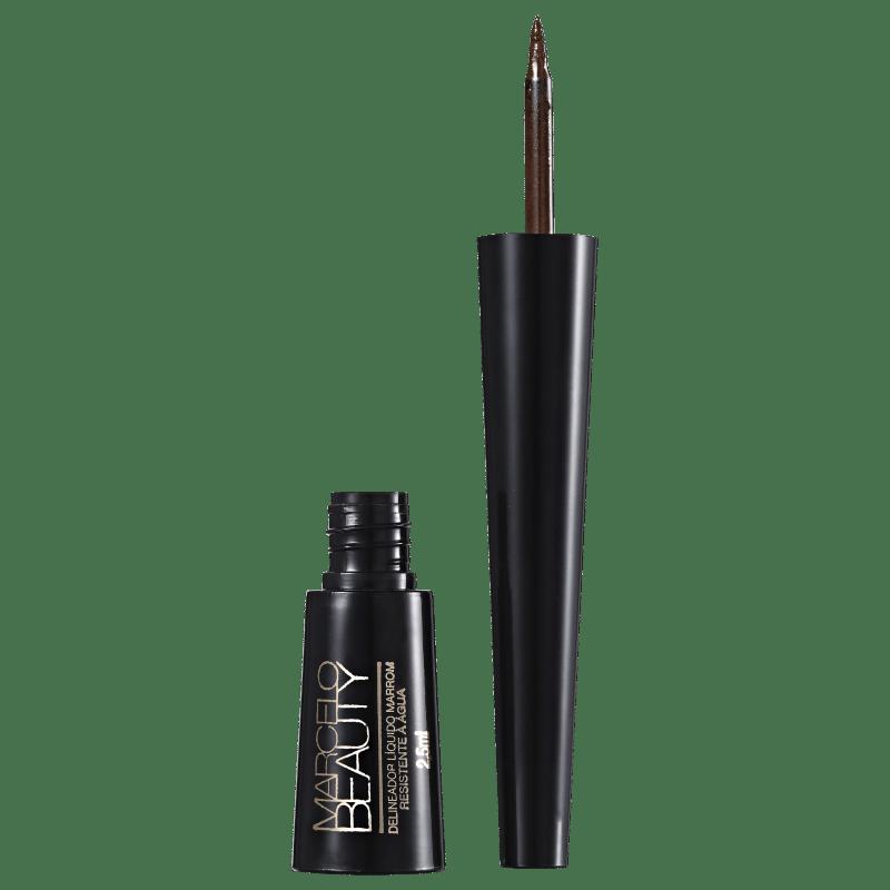 Marcelo Beauty Marrom - Delineador Líquido 2,5ml