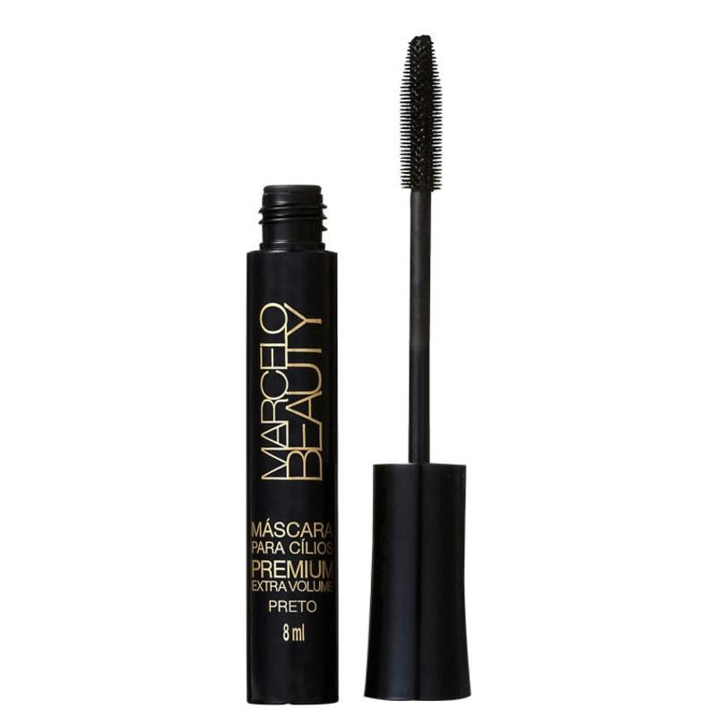 Marcelo Beauty Premium Extra Volume Preto - Máscara para Cílios 8ml