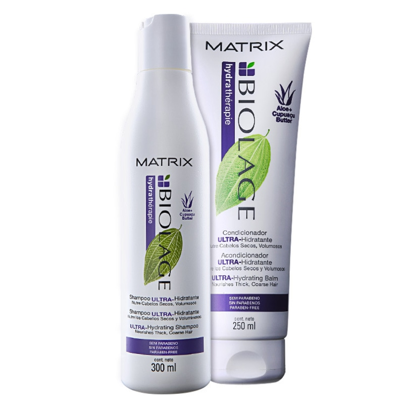 Kit Matrix Biolage Hydrathérapie Duo (2 Produtos)