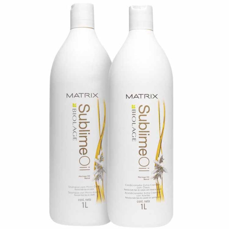 Matrix Biolage Sublime Oil Duo Salon Kit (2 Produtos)
