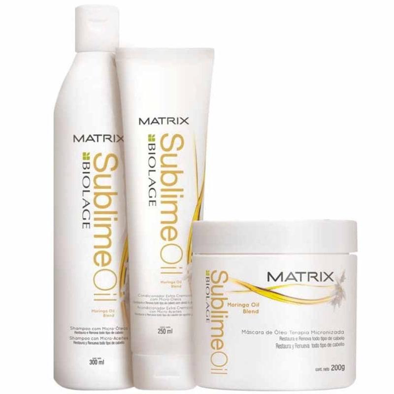 Matrix Biolage Sublime Oil Intense Kit (3 Produtos)