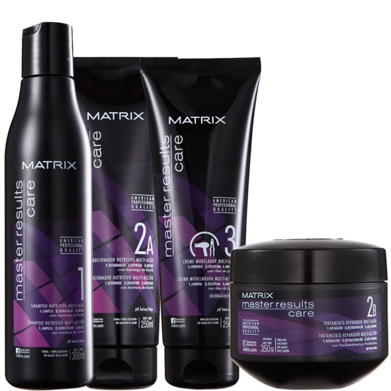 Matrix Master Results Care Multi-Ação Kit (4 Produtos)
