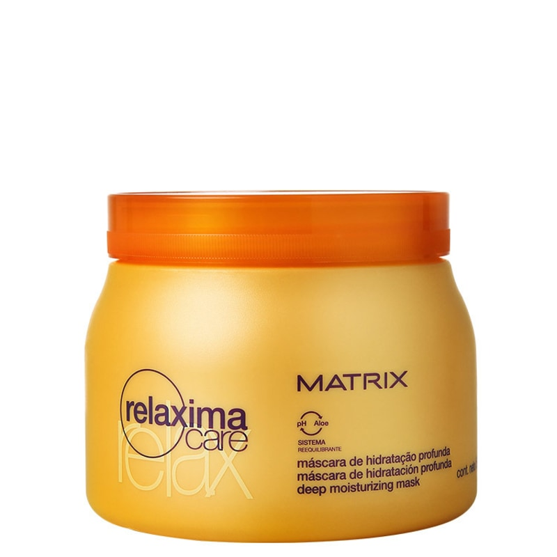 Matrix Relaxima.Care Máscara de Hidratação Profunda - Máscara de Tratamento 500g