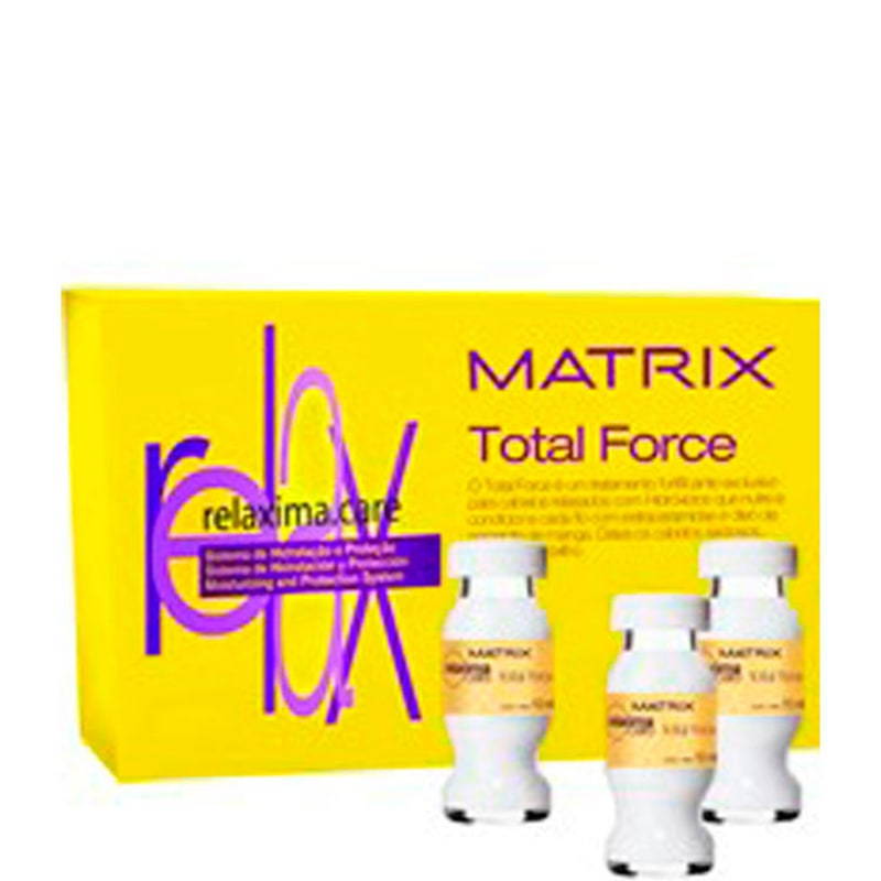 Matrix Relaxima.Care Total Force - Ampola de Tratamento 12x10ml