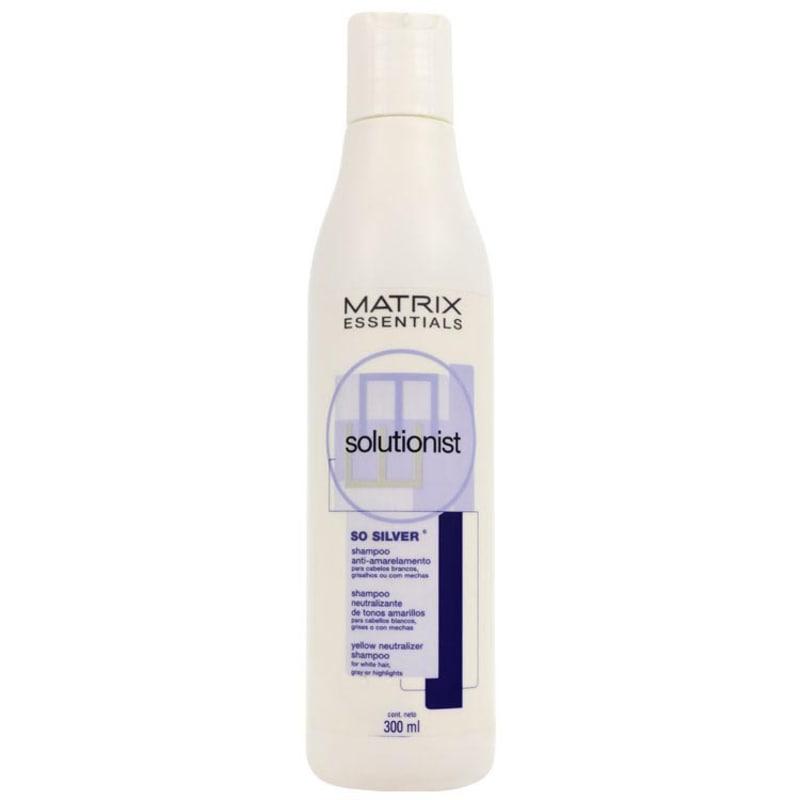 Matrix Solutionist So Silver Anti-Amarelamento - Shampoo 300ml