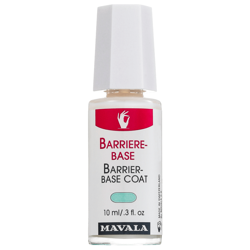Mavala Barrier Base Coat - Base Clareadora para Unhas Sensíveis 10ml
