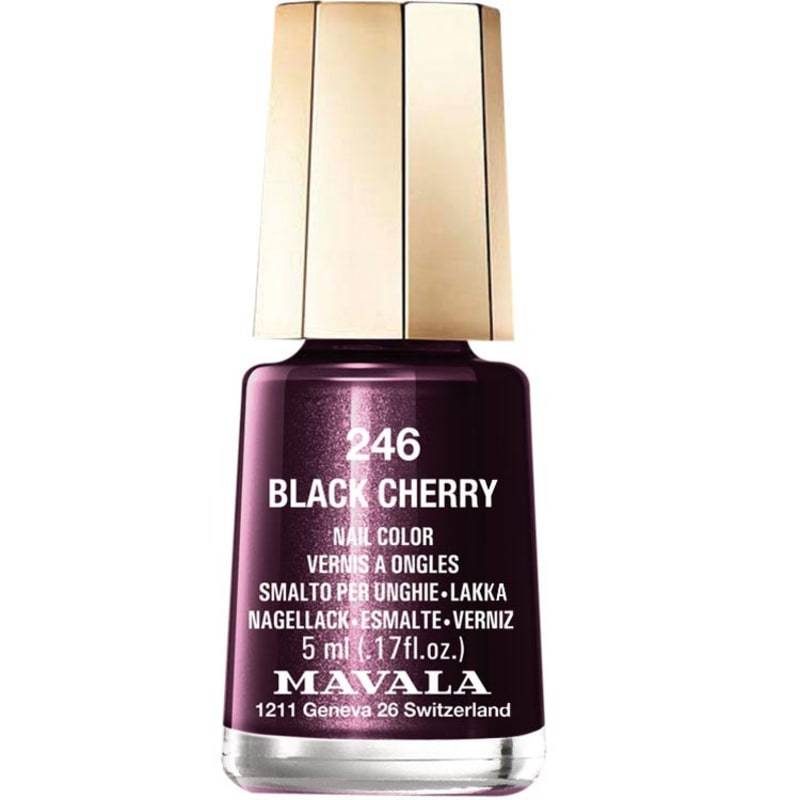 Mavala Mini Colours Black Cherry - Esmalte Cintilante 5ml