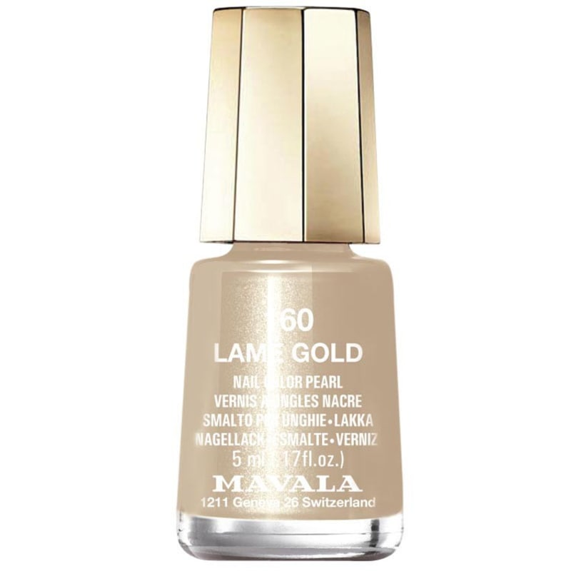 Mavala Mini Colours Lame Gold - Esmalte Cintilante 5ml