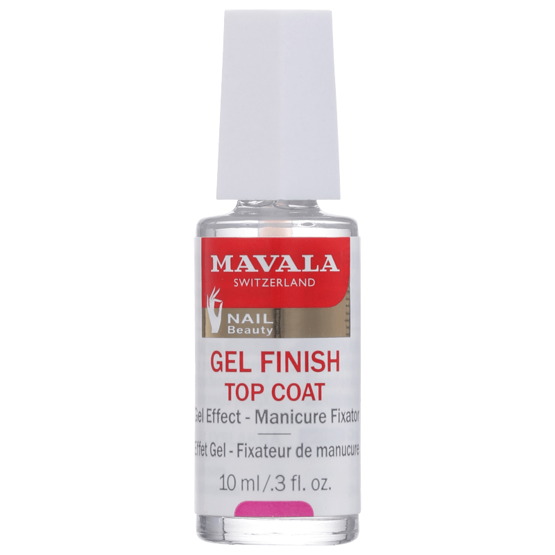 Mavala Gel Finish Top Coat - Finalizador de Efeito Gel 10ml