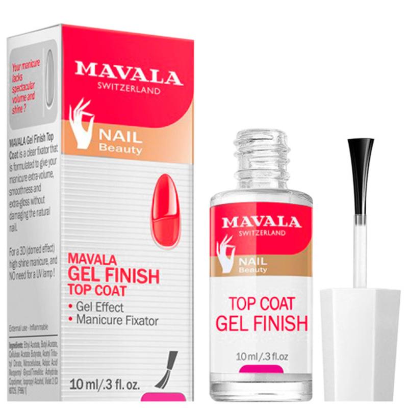 Mavala Gel Finish Top Coat - Finalizador de Efeito Gel 10ml
