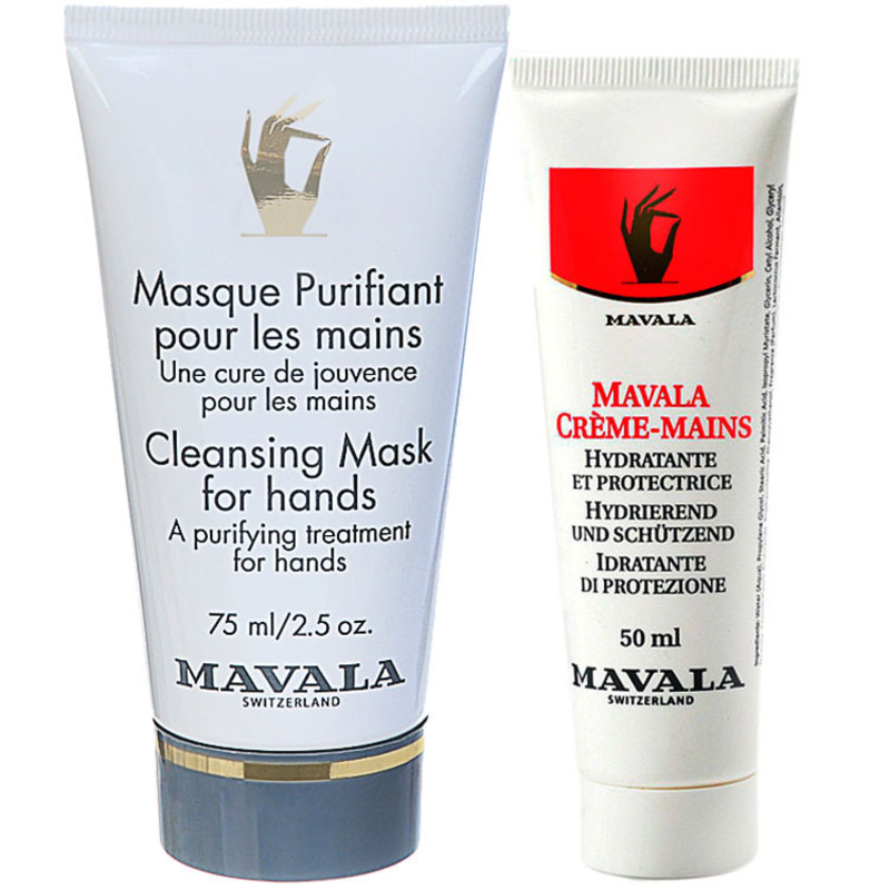 Mavala Hand Cream e Cleasing Mask for Hands (2 Produtos)