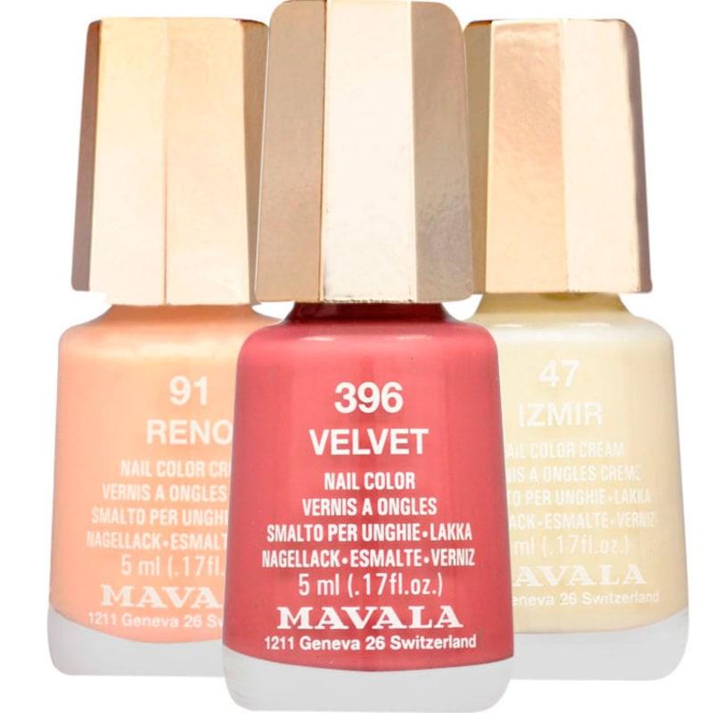 Kit Mavala Mini Colours de Esmaltes (3 produtos)