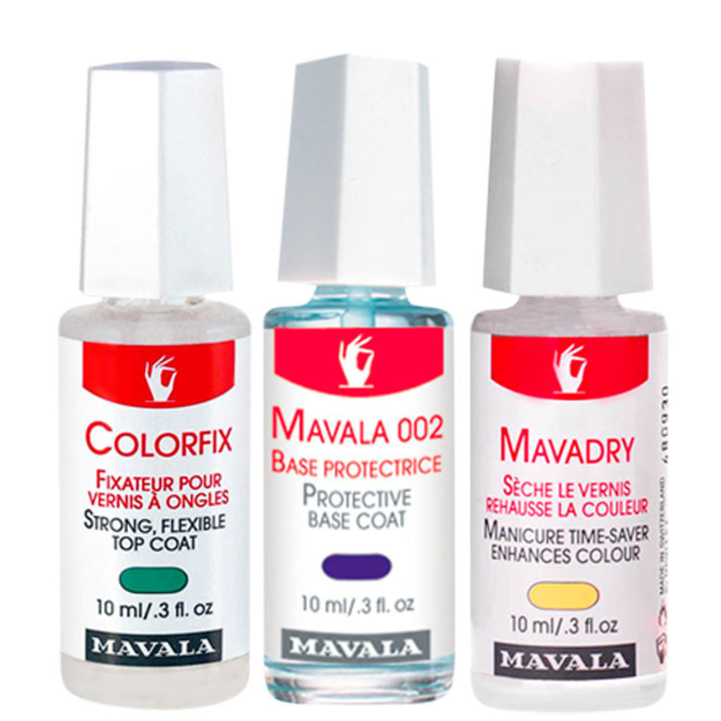Kit Mavala Manicure (3 produtos)