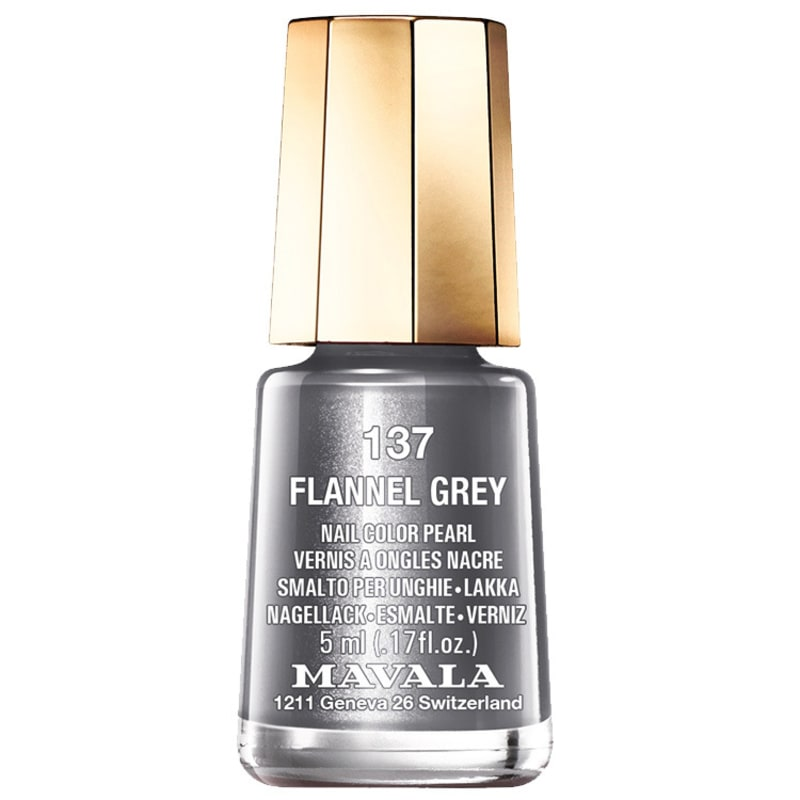 Mavala Mini Colours Flannel Grey - Esmalte Metálico 5ml