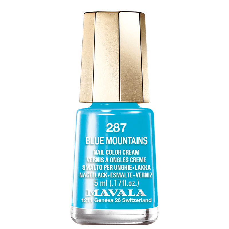 Mavala Mini Colours 287 Blue Mountains - Esmalte Cremoso 5ml