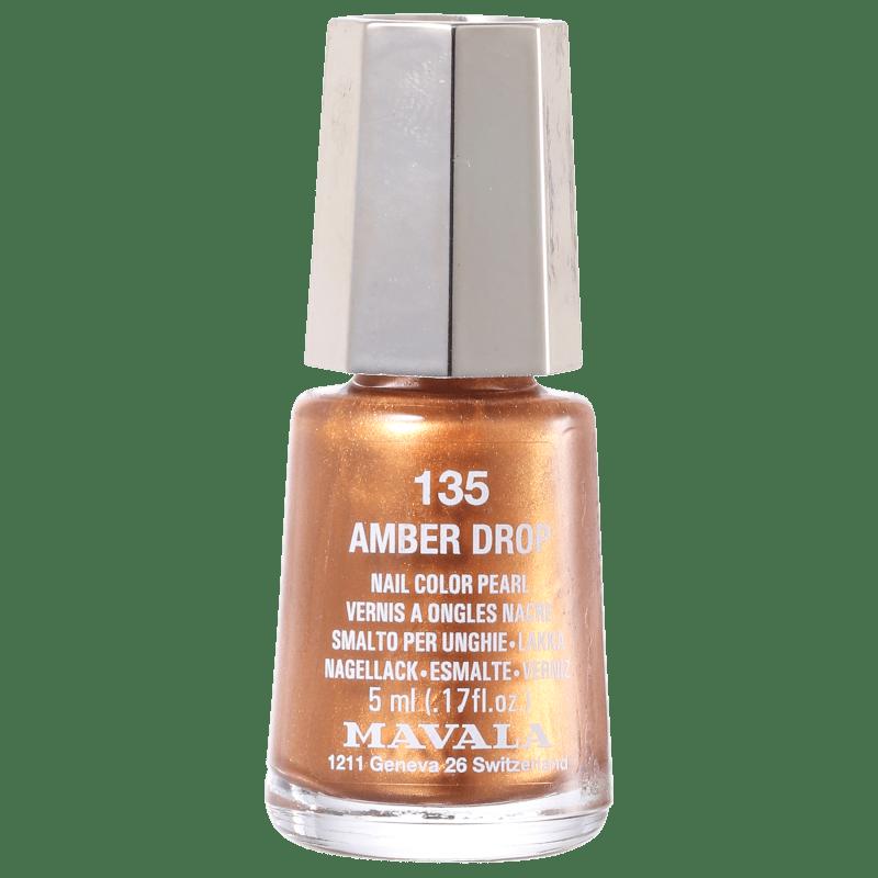Mavala Mini Colours Amber Drop N135 - Esmalte Metálico 5ml