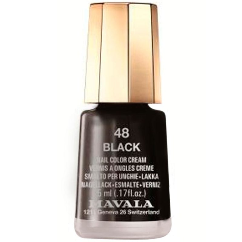 Mavala Mini Colours Black - Esmalte Cremoso 5ml