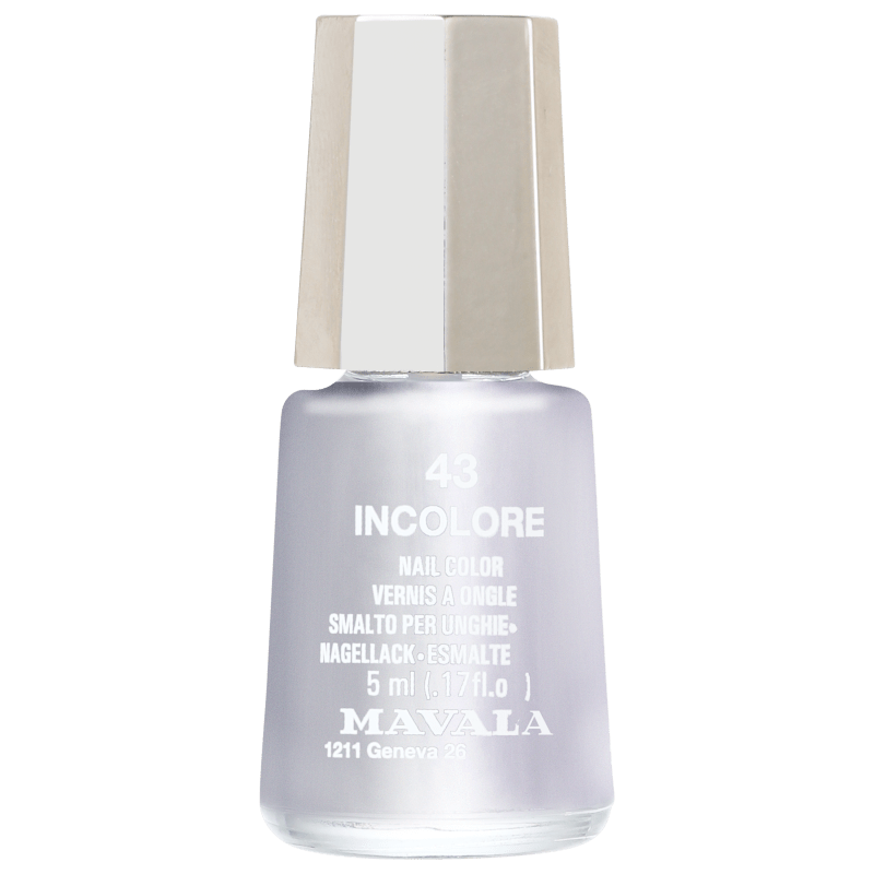 Mavala Mini Colours Incolore Vernis À Ongles - Esmalte Cremoso 5ml