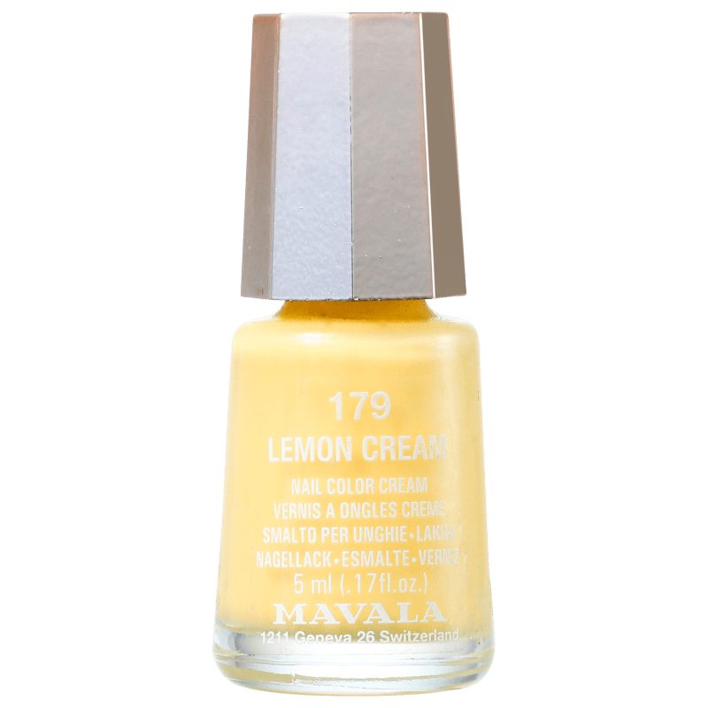 Mavala Mini Colours Lemon Cream - Esmalte Cremoso 5ml