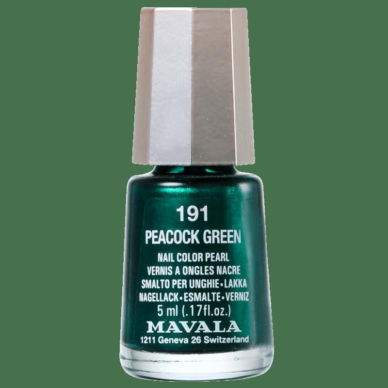 Mavala Mini Colours Peacock Green - Esmalte Metálico 5ml