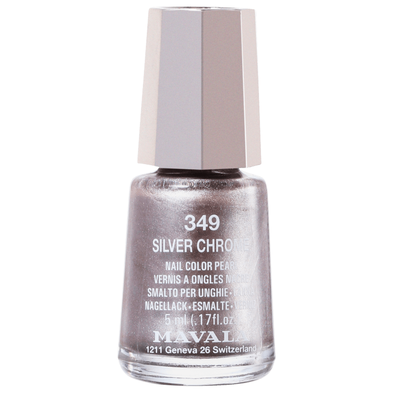 Mavala Mini Colours Silver Chrome - Esmalte Metálico 5ml