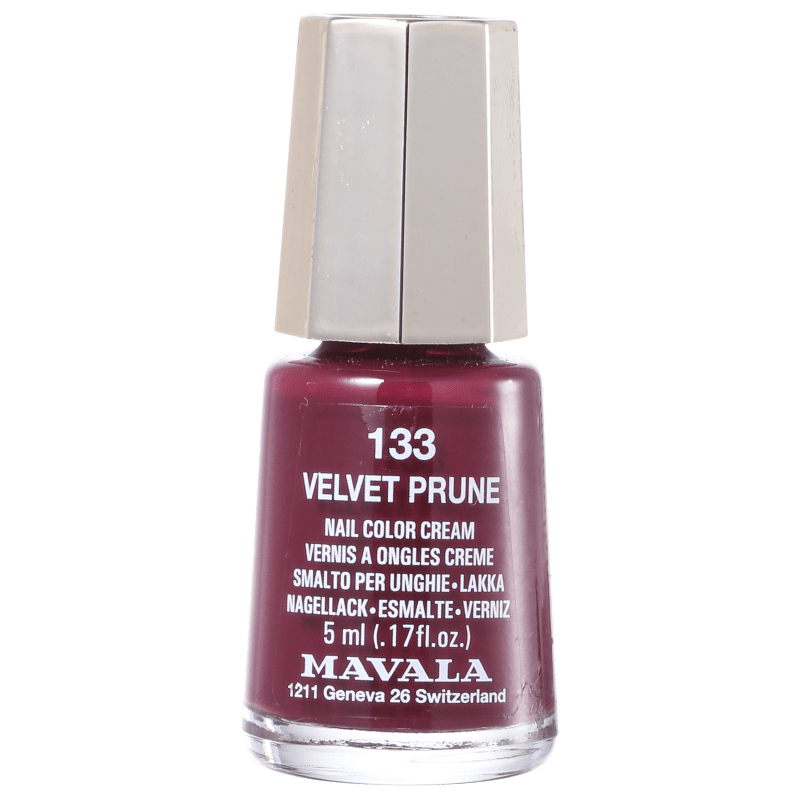 Mavala Mini Colours Velvet Prune N133 - Esmalte Cremoso 5ml