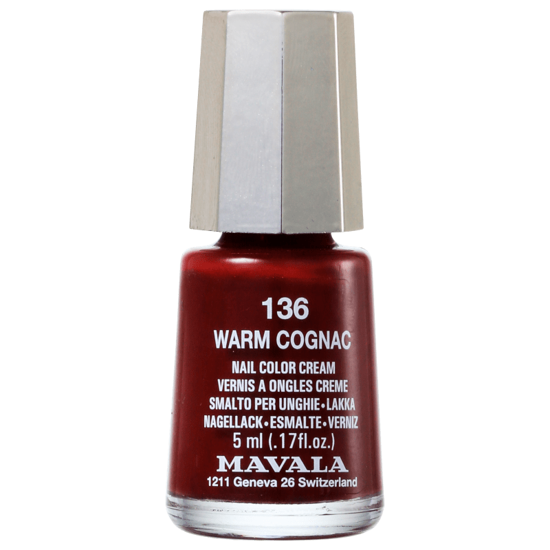 Mavala Mini Colours Warm Cognac N136 - Esmalte Cremoso 5ml