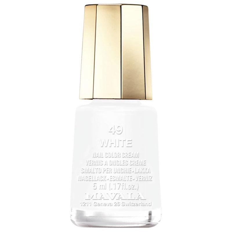 Mavala Mini Colours White - Esmalte Cremoso 5ml