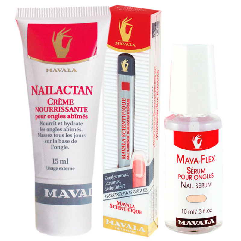 Kit Mavala Scientifique Pen, Nailactan & Mavaflex (3 produtos)