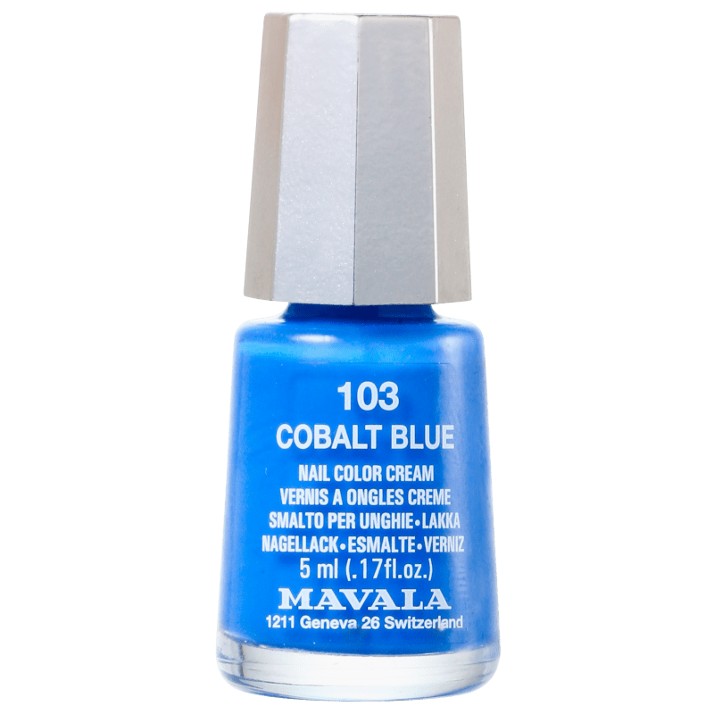 Mavala Techni Colors Cobalt Blue - Esmalte Cremoso 5ml