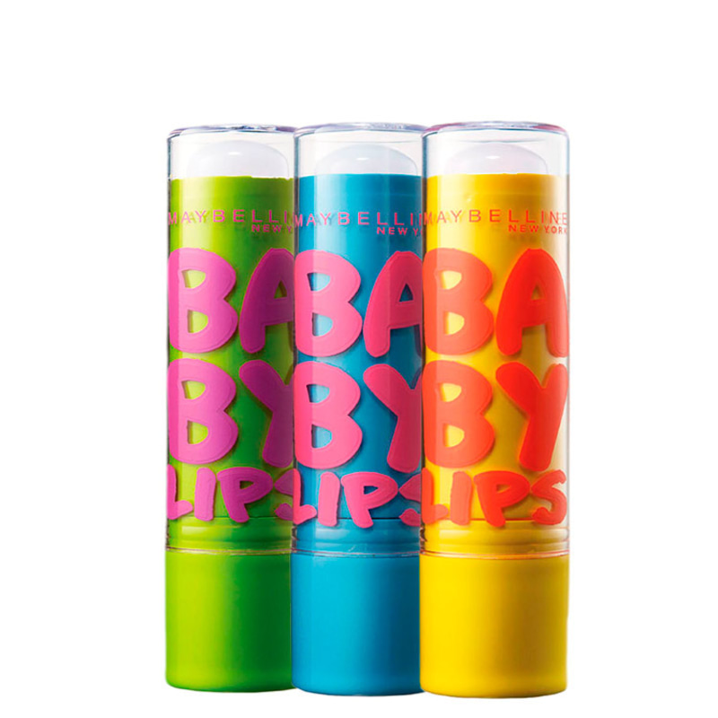 Kit Maybelline Baby Lips Care FPS 20 (3 produtos)