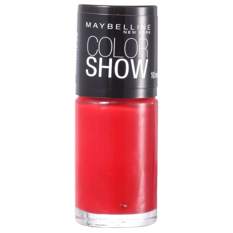 Maybelline Color Show 260 Red Madness - Esmalte Cremoso 10ml