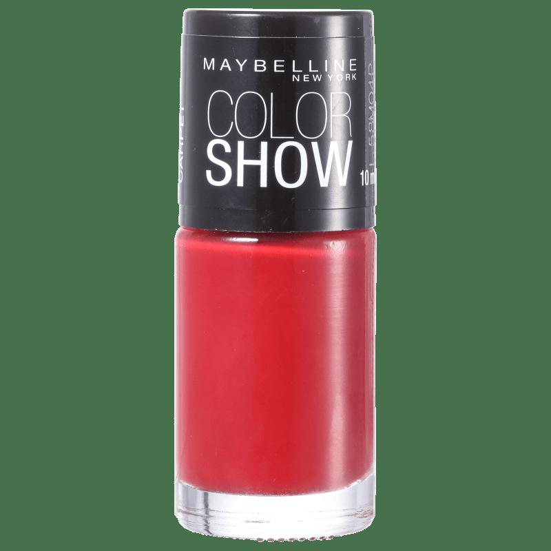Maybelline Color Show 265 Red Carpet - Esmalte Cremoso 10ml