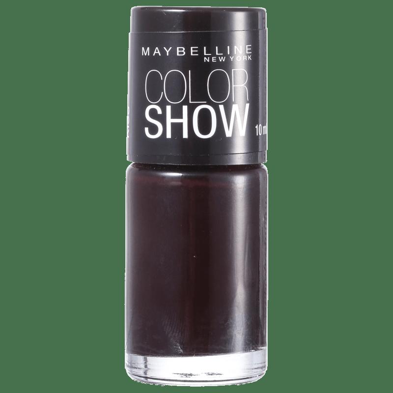 Maybelline Color Show 285 Burgundy Kiss - Esmalte 10ml