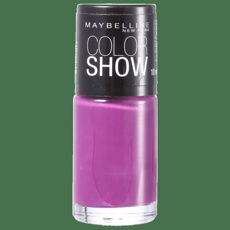 Maybelline Color Show 415 Purple Splash - Esmalte Cremoso 10ml